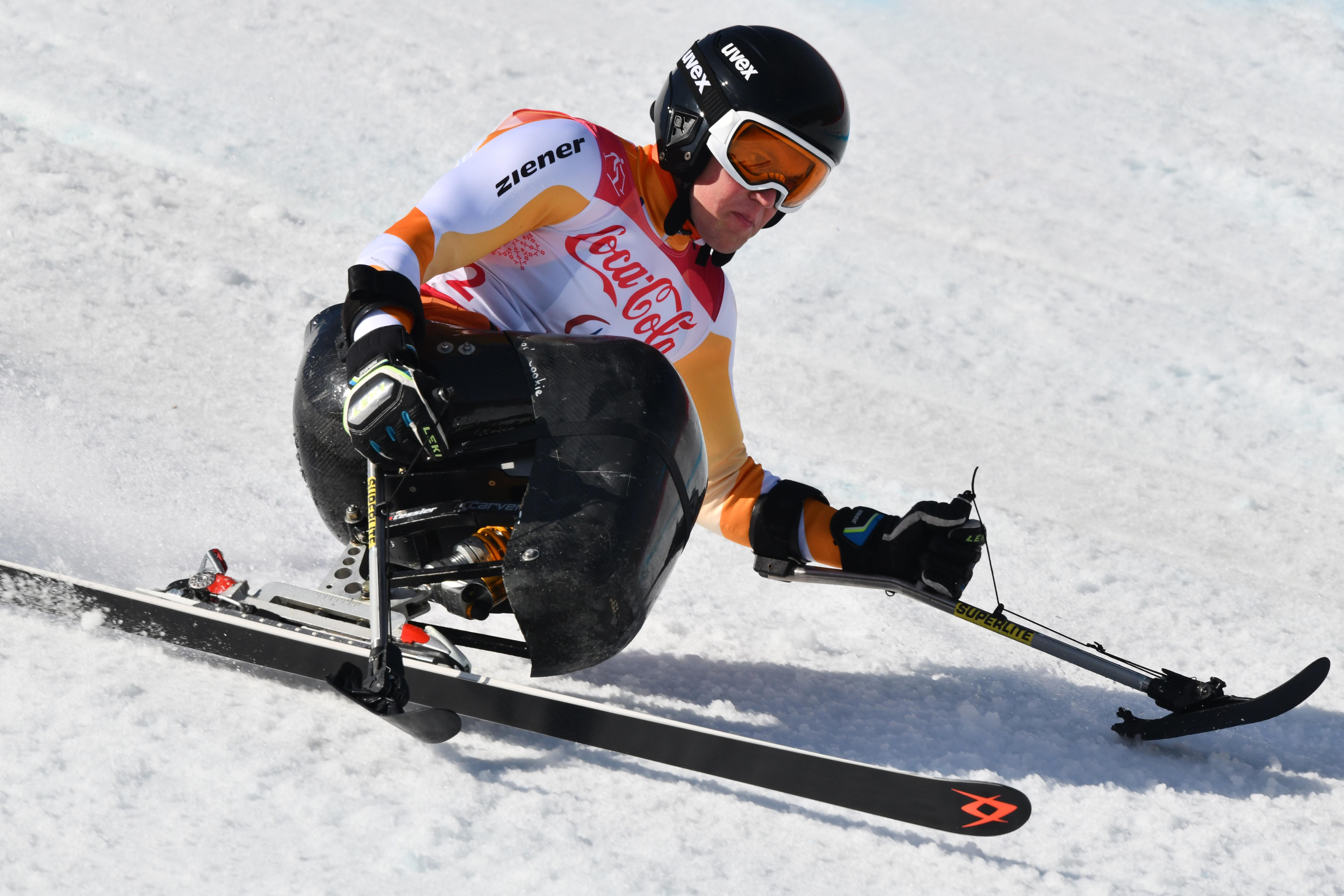 Niels de Langen laat zich niet gek maken op de Paralympische Spelen