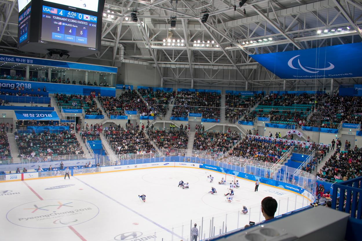 Gangneung: wat gebeurt er met de stadions na de Paralympische Spelen?