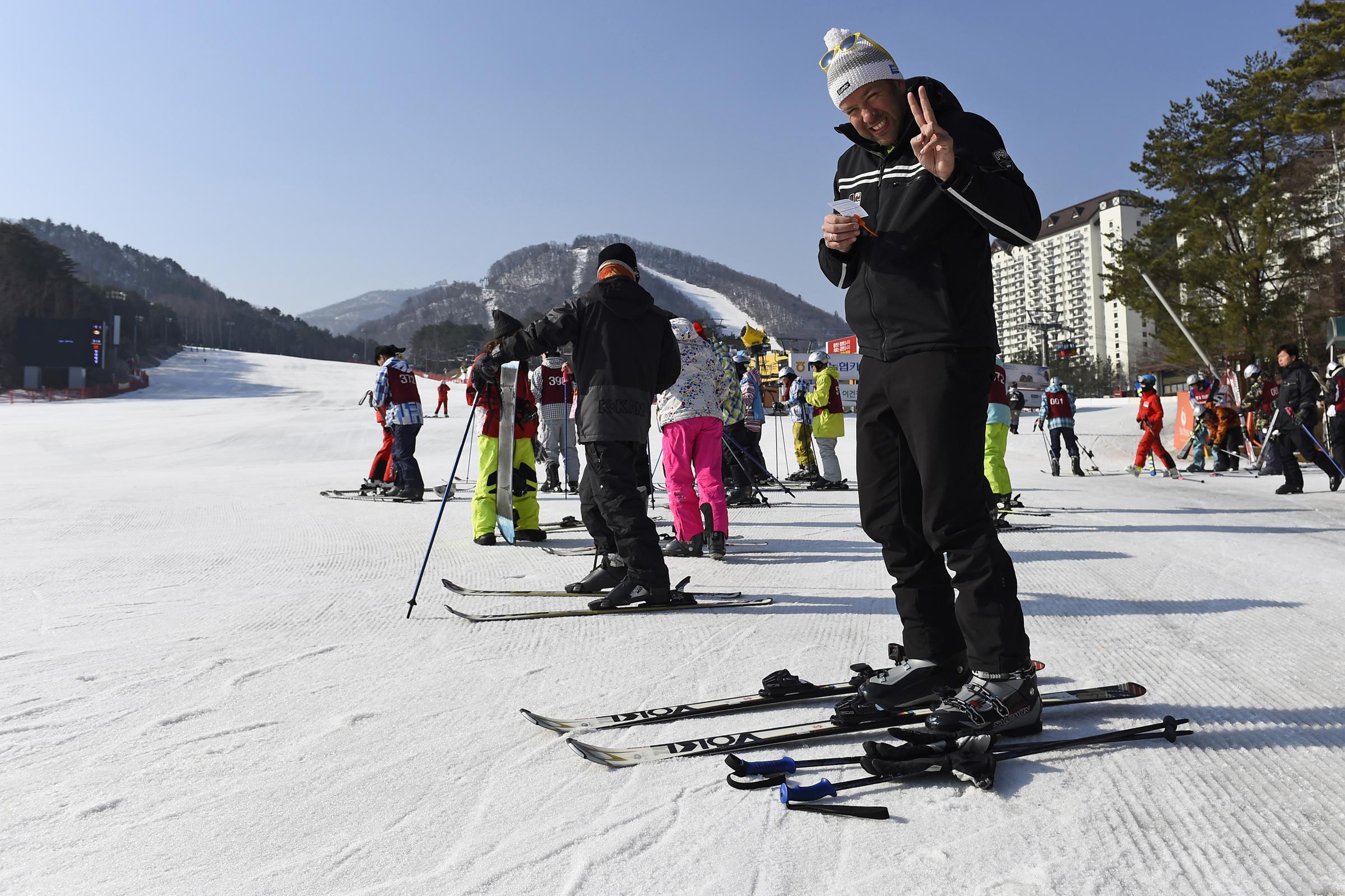 VIDEO: Zelf skiën in Zuid-Korea? Pas op voor paarse pistes!