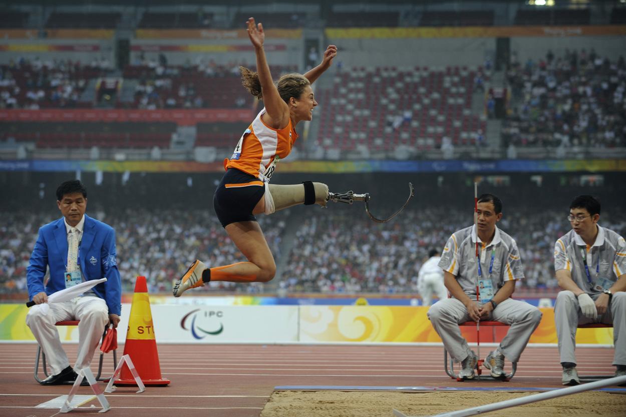 Net geen brons, wel een nieuwe paralympische droom voor Annette Roozen