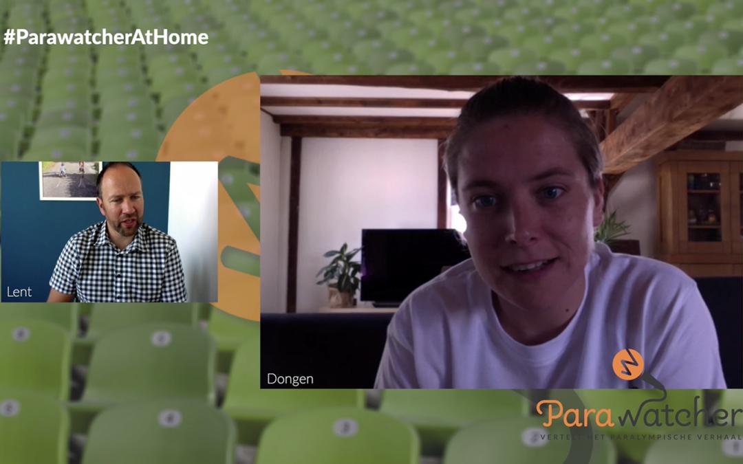 ParaWatcher At Home (4): Kelly van Zon