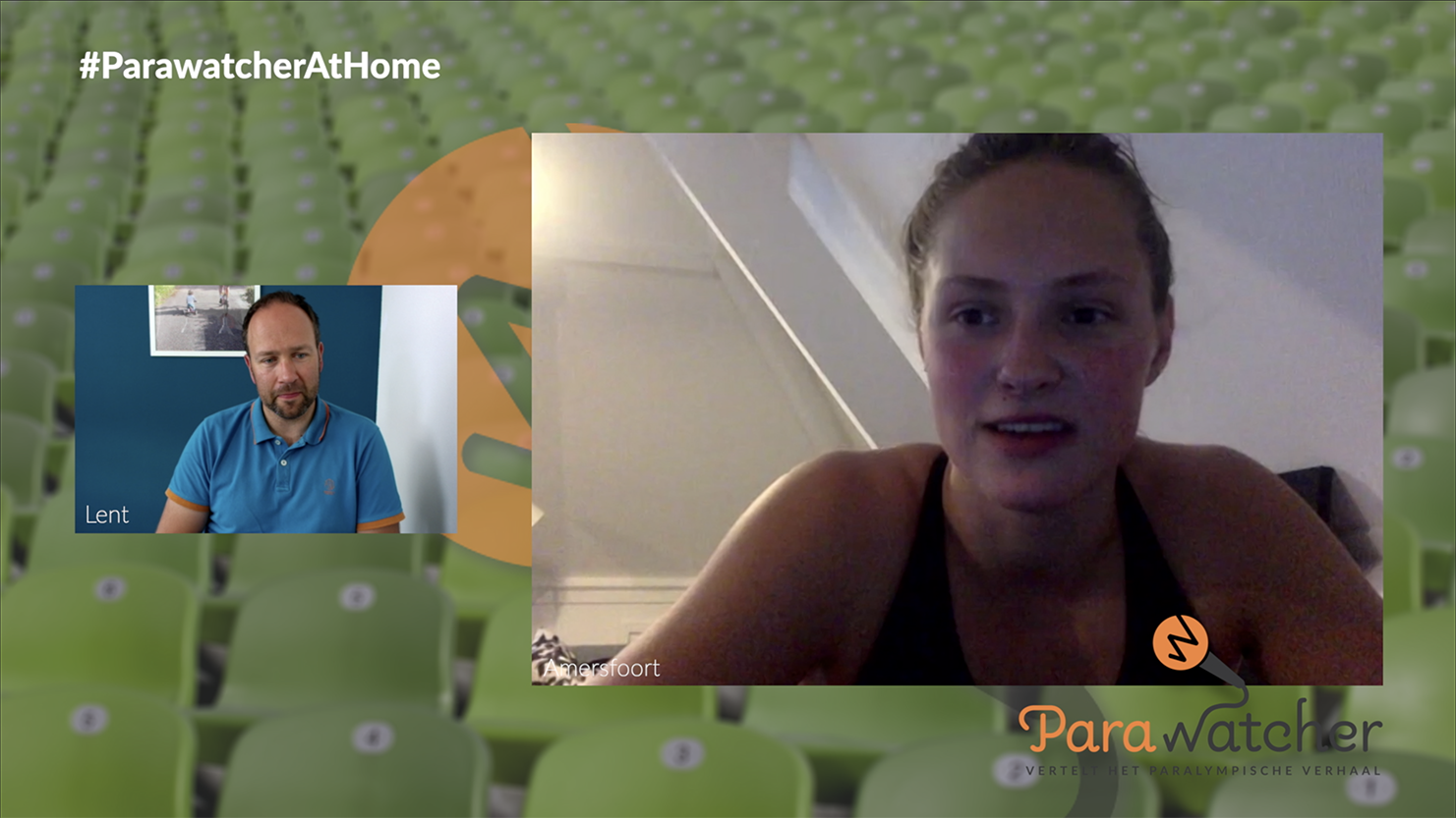 ParaWatcher At Home (5): Chantalle Zijderveld