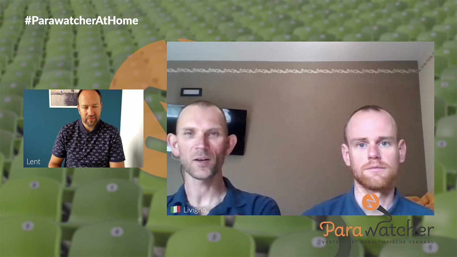 ParaWatcher At Home (6): Vincent ter Schure & Timo Fransen
