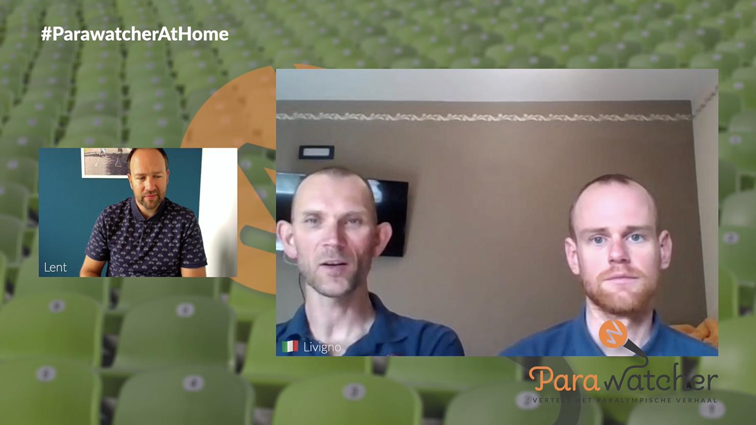 ParaWatcher At Home (6): Vincent ter Schure & Timo Fransen