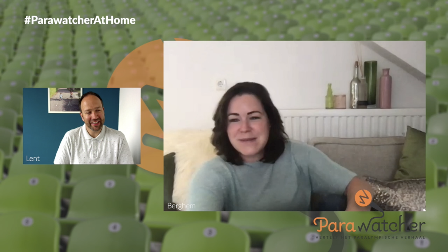 ParaWatcher At Home (7): Sanne Voets