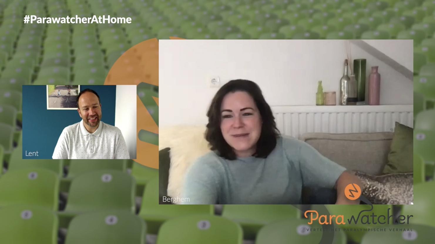 ParaWatcher At Home (7): Sanne Voets