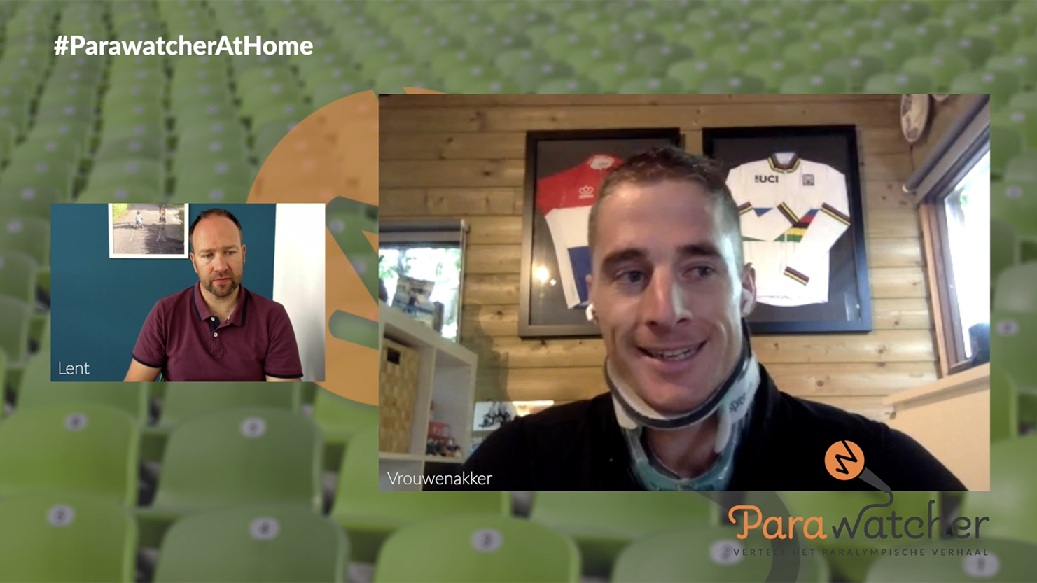 ParaWatcher At Home (8): Jetze Plat