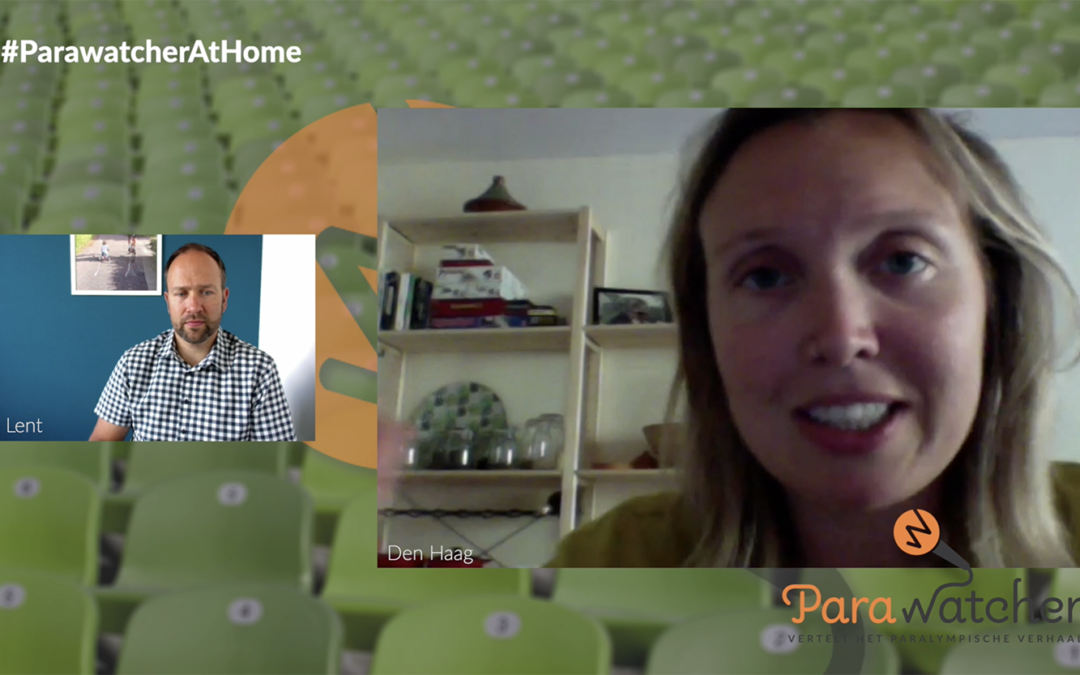 ParaWatcher At Home (10): Renske van Beek