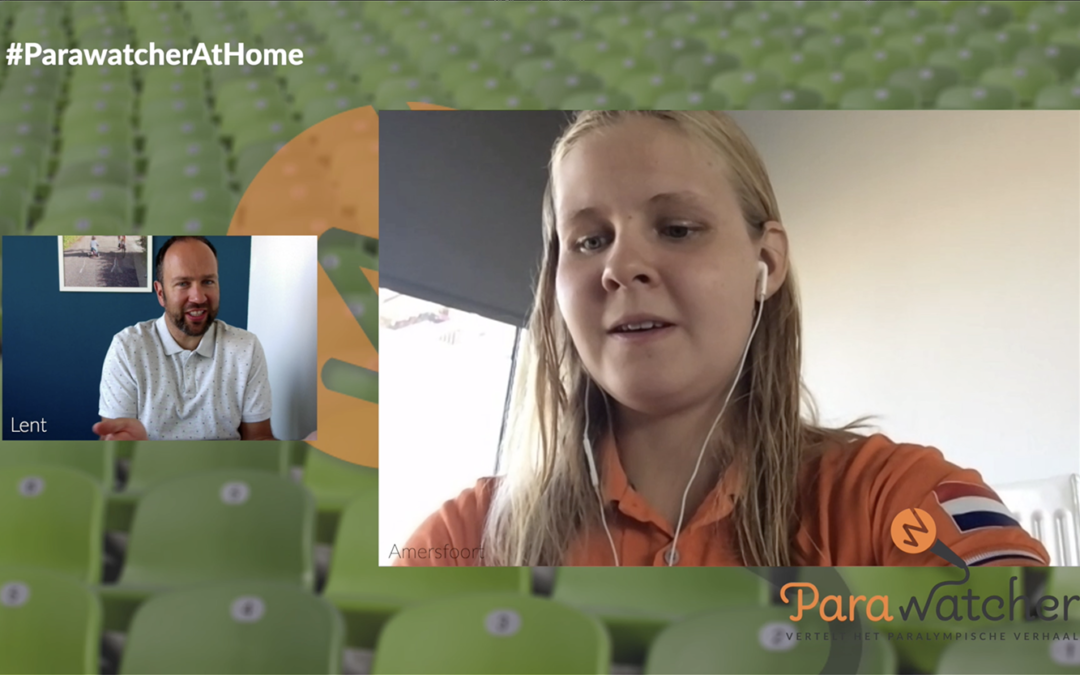 ParaWatcher At Home (12, slot): Liesette Bruinsma