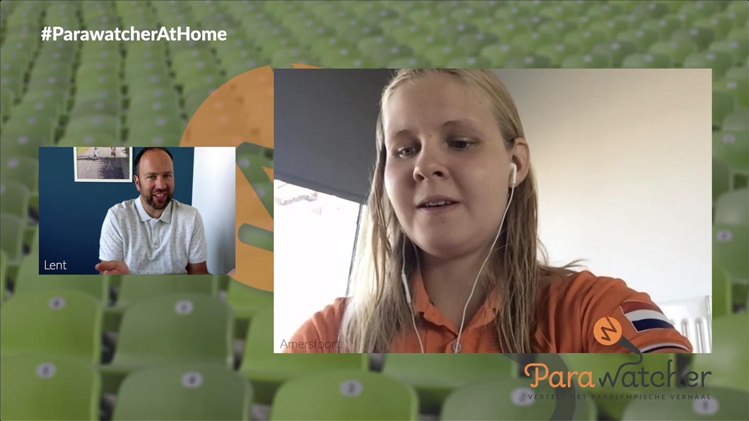 ParaWatcher At Home (12, slot): Liesette Bruinsma